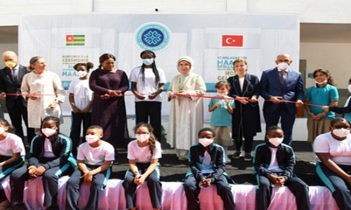 Emine Erdoğan, Togo'da Türkiye Maarif Vakfı Eğitim Kampüsü'nün açılışına katıldı